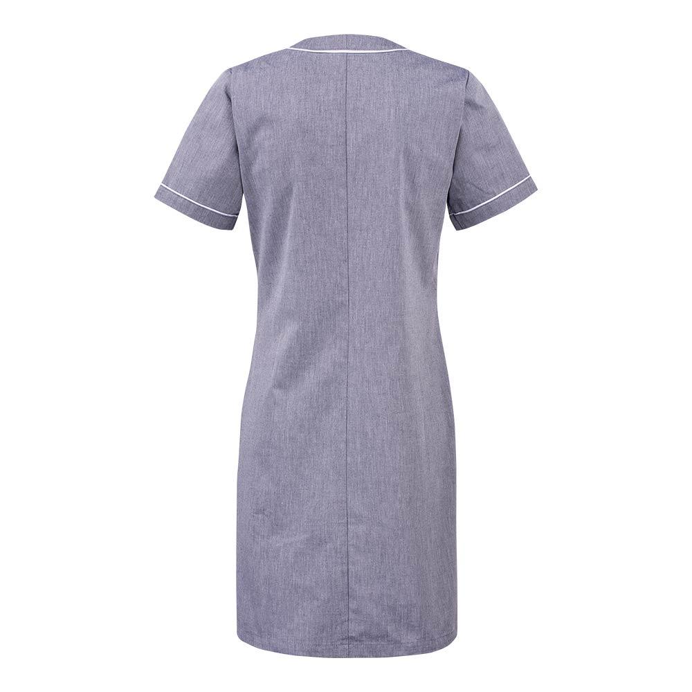 Smila Dress Lilo V-Dress W greymel