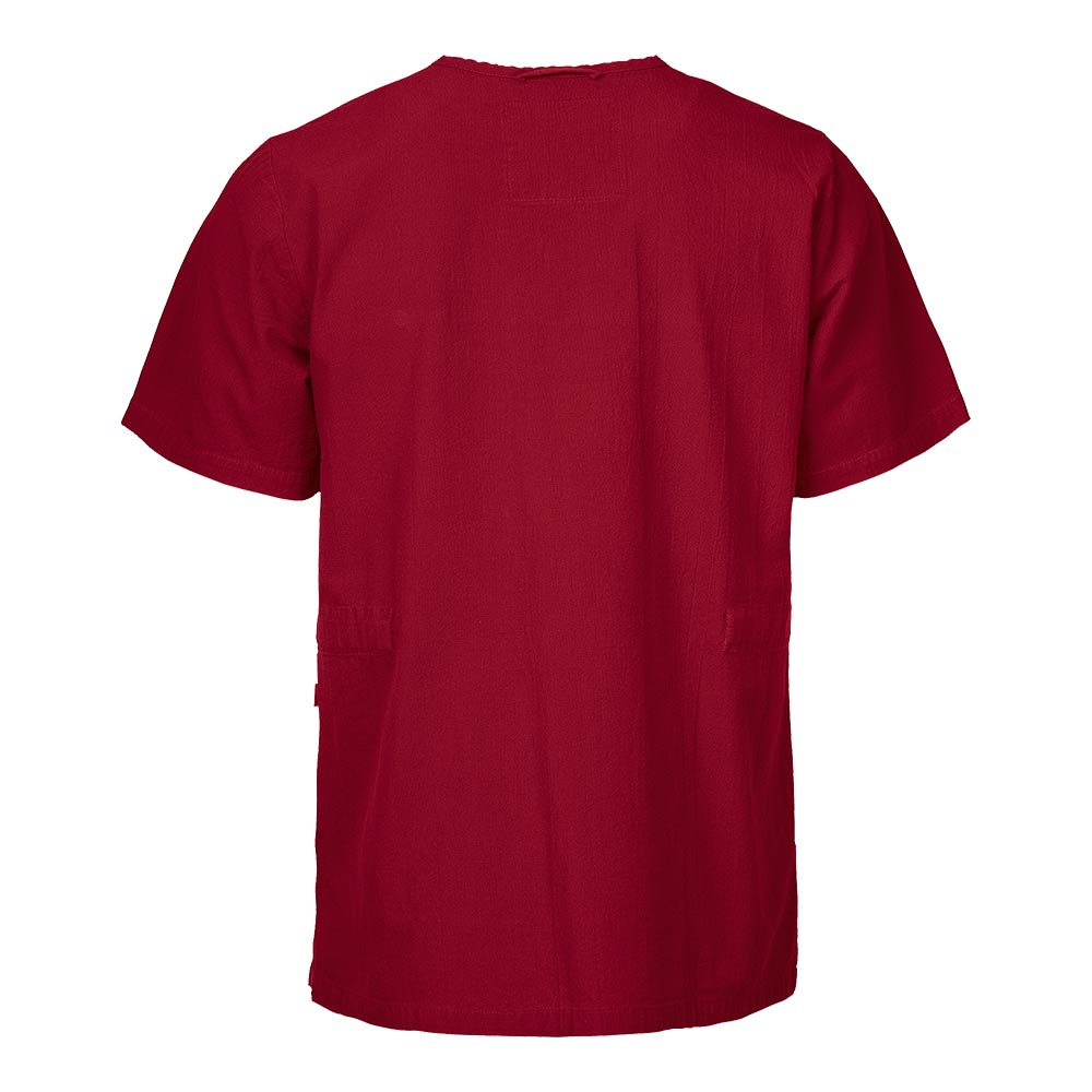 Smila Tunic/Blouse Ebbe V-Tunic Gots dark red