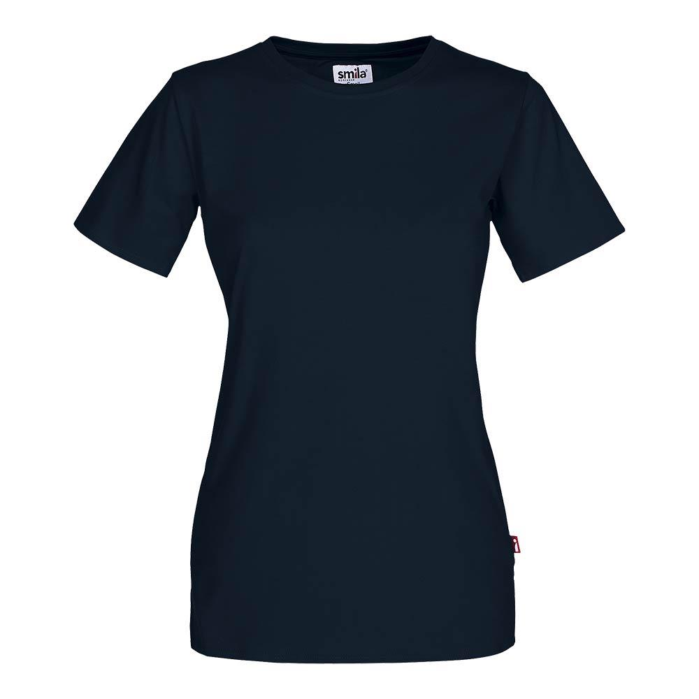 Smila T-Shirt Helmi T-Shirt W marin
