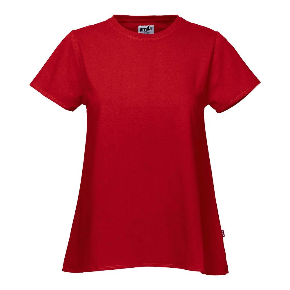 Smila T-Shirt Hilja A-Top W röd