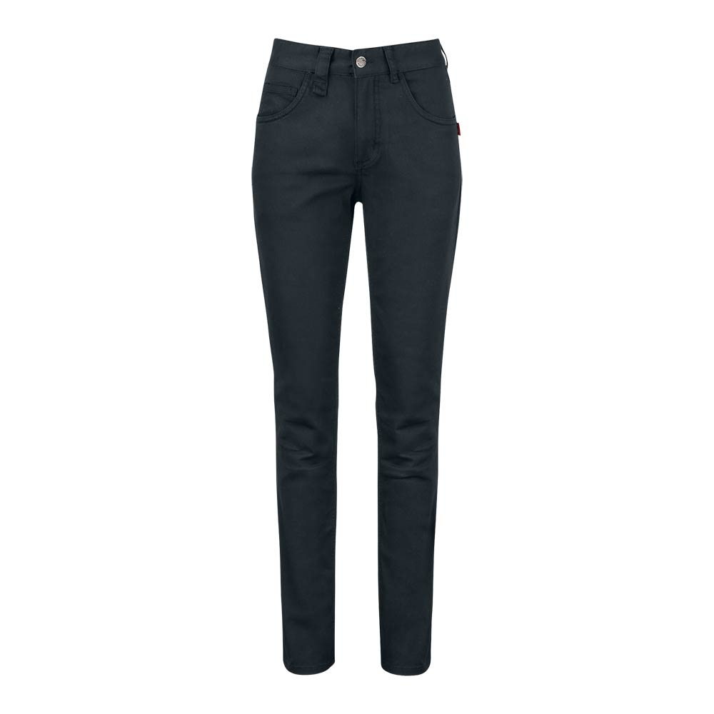 Smila Trousers Fay Trs Slim W svart