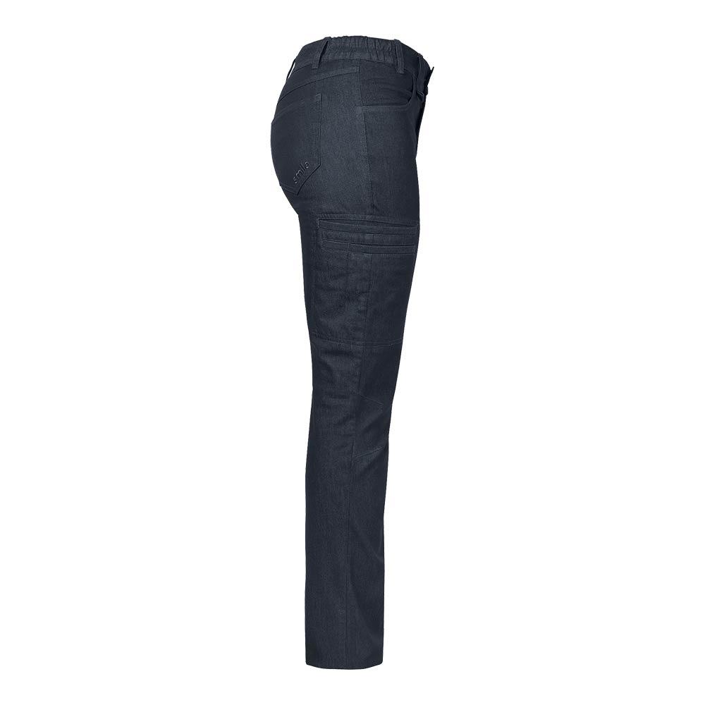 Smila Trousers Fia Trs Work W bluemel