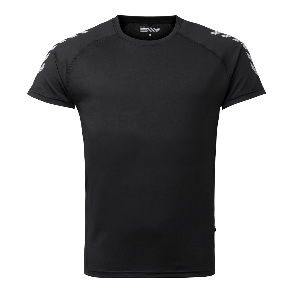 TED funktions t-shirt svart