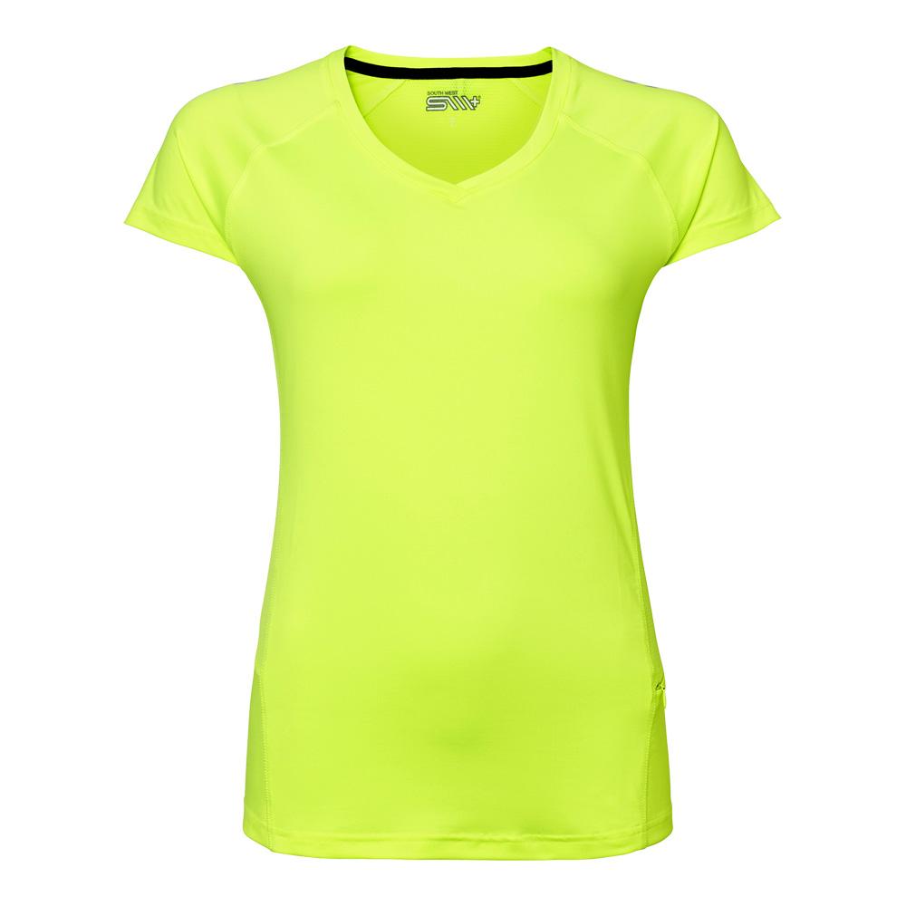 TEA funktions t-shirt Dam fluor.ye