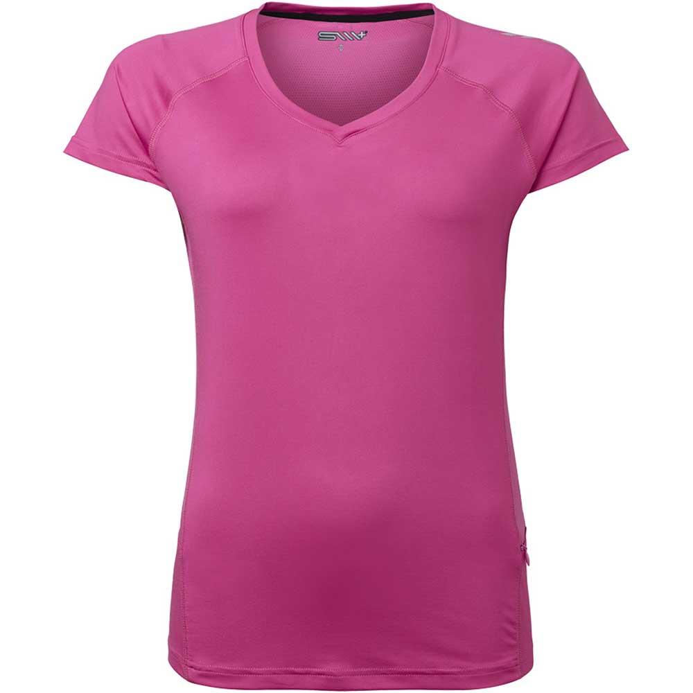 TEA funktions t-shirt Dam cerise