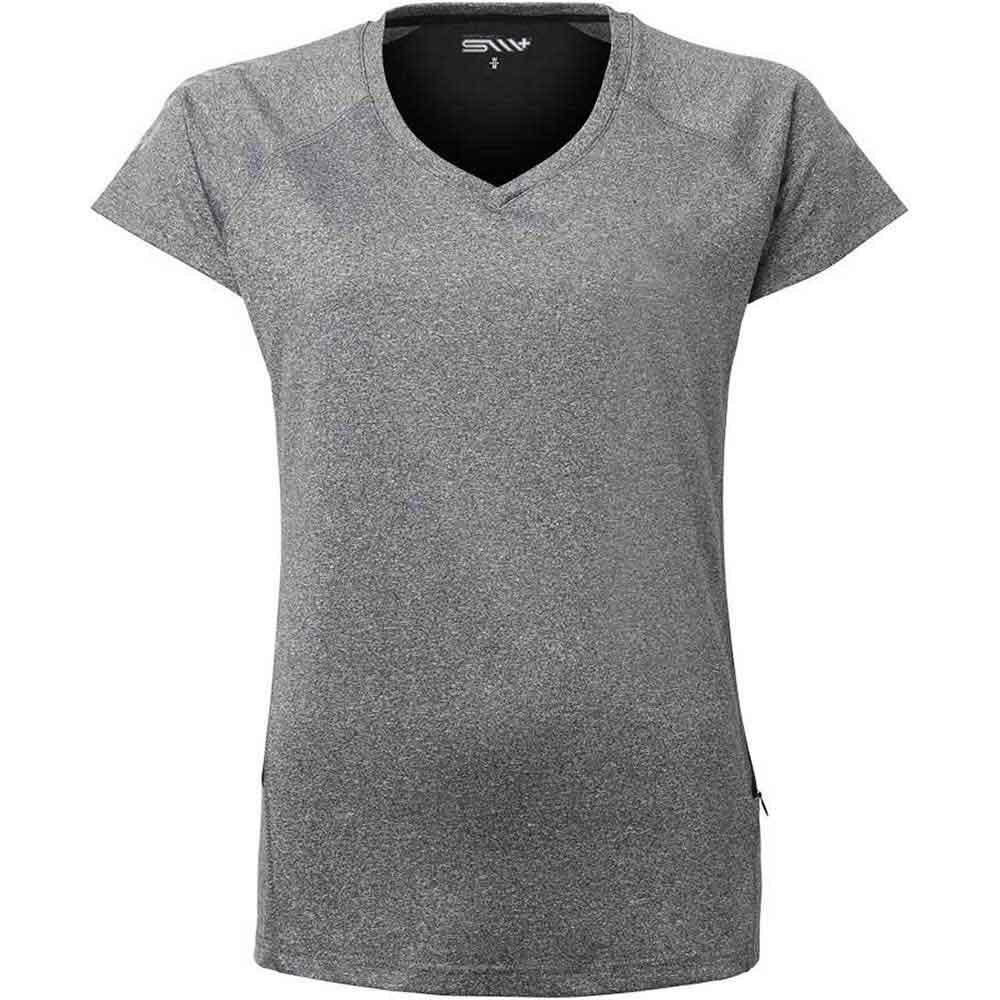 TEA funktions t-shirt Dam m greymel