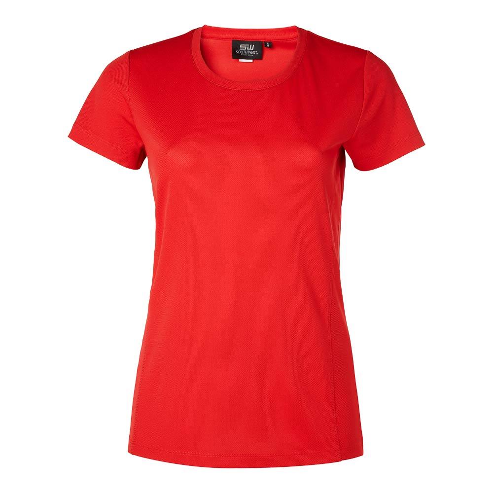 ROZ FUNC T-shirt Dam röd