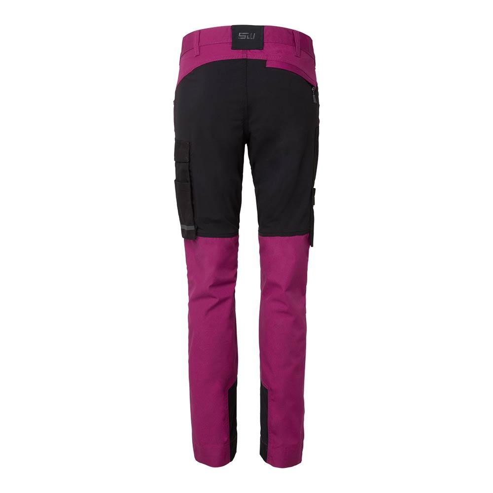 Cora Trousers Dam dark cerise