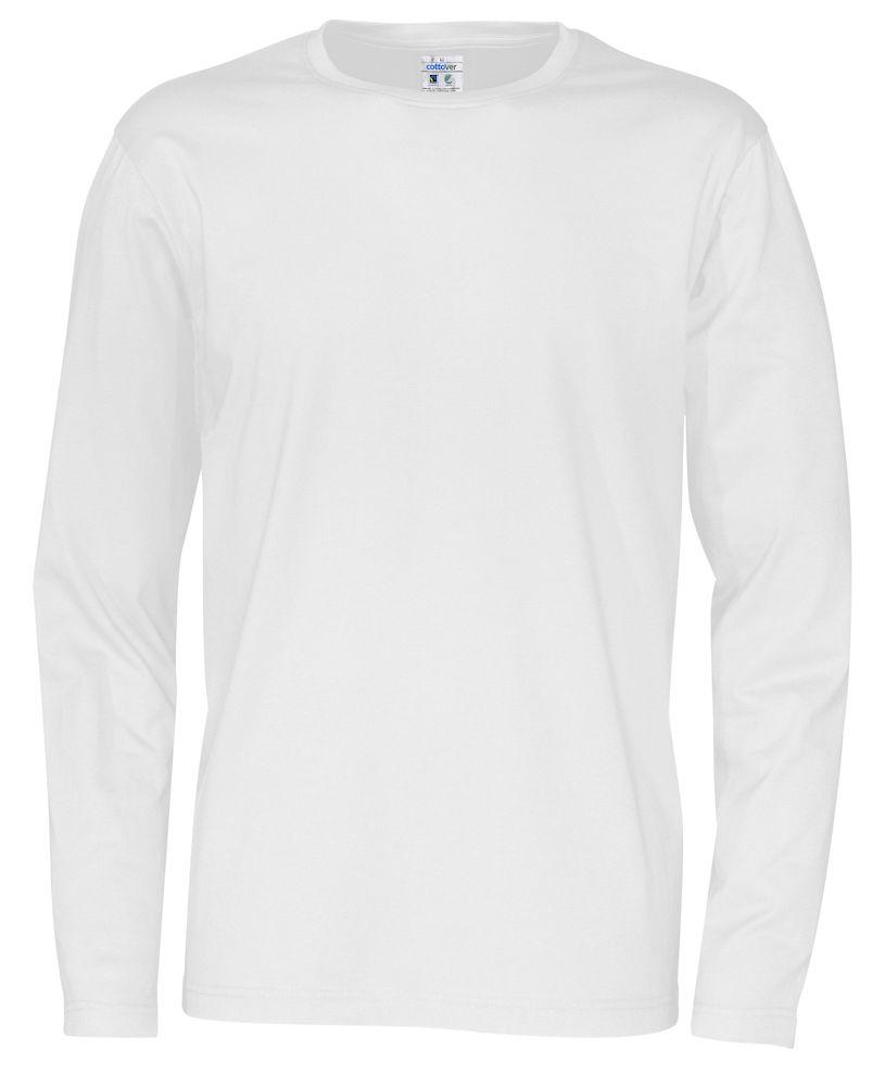 T-shirt Man L/S vit
