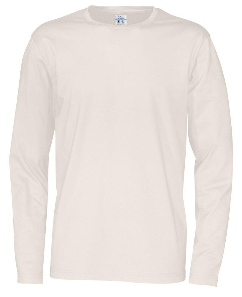 T-shirt Man L/S Offwhite