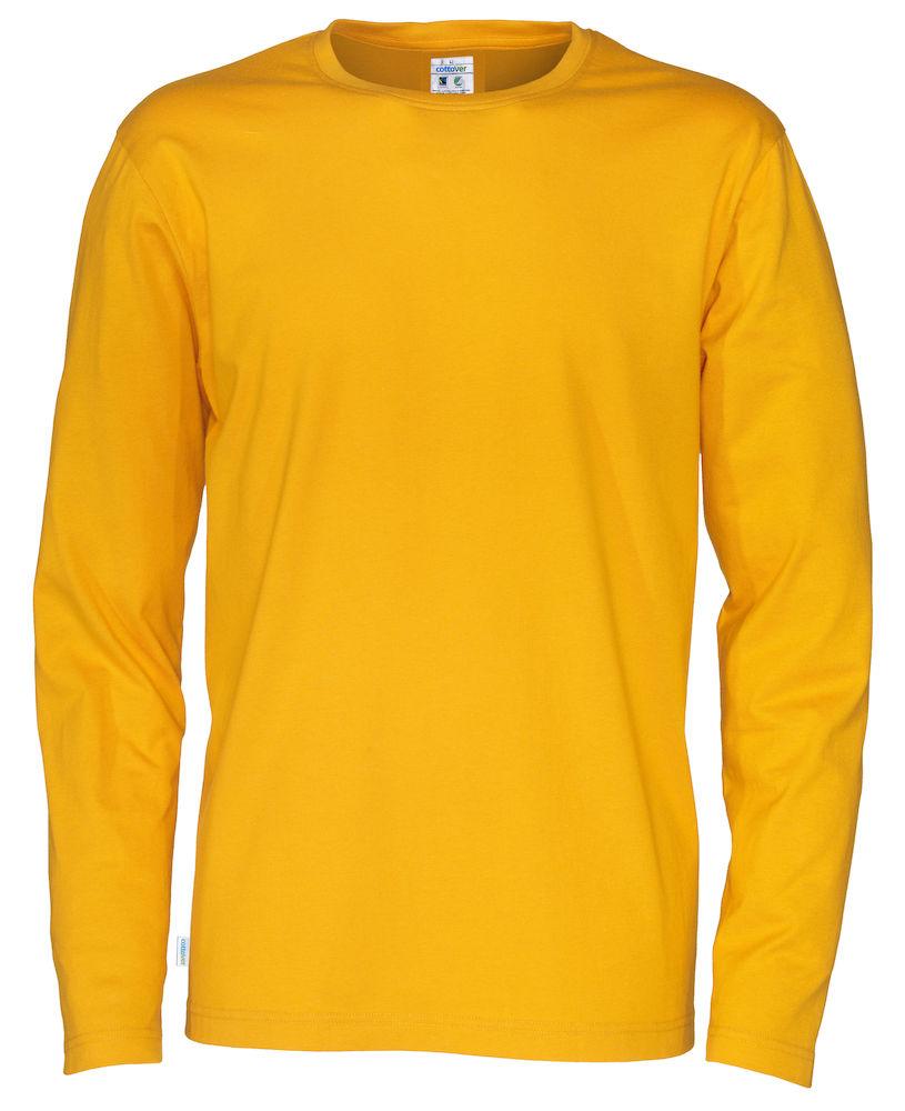T-shirt Man L/S Yellow