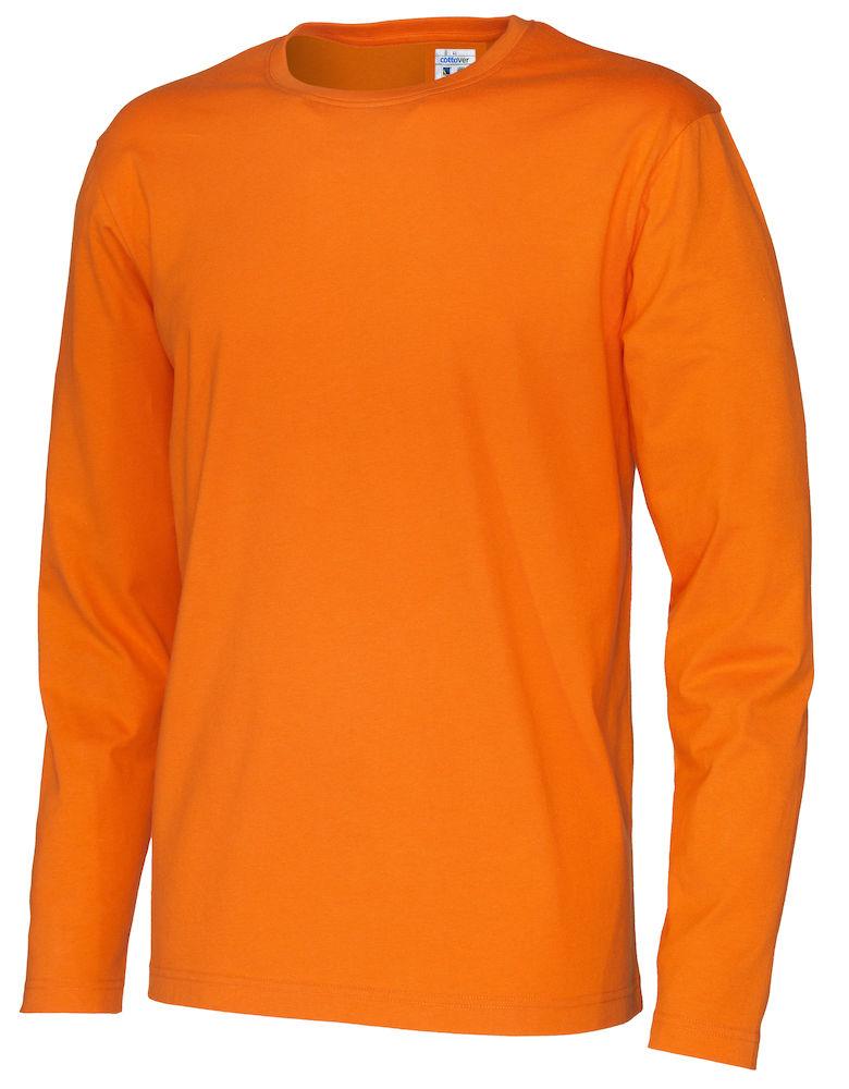 T-shirt Man L/S Orange
