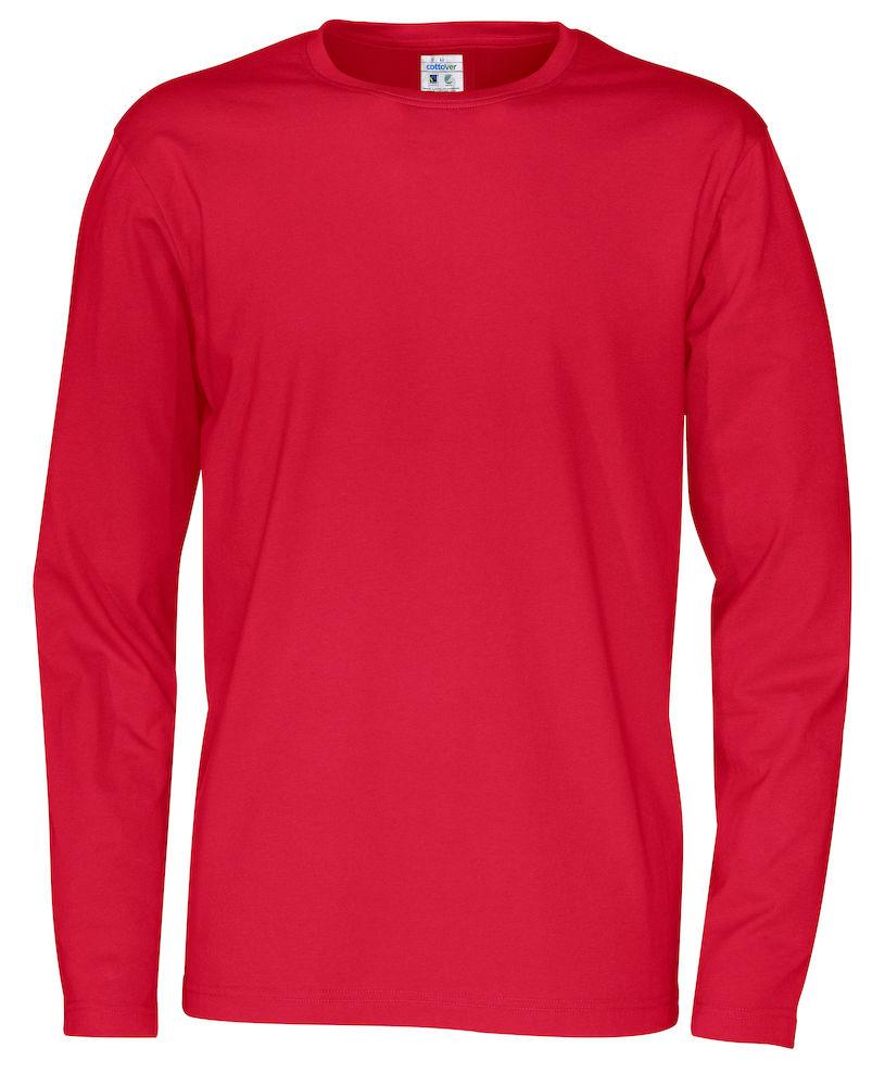 T-shirt Man L/S röd