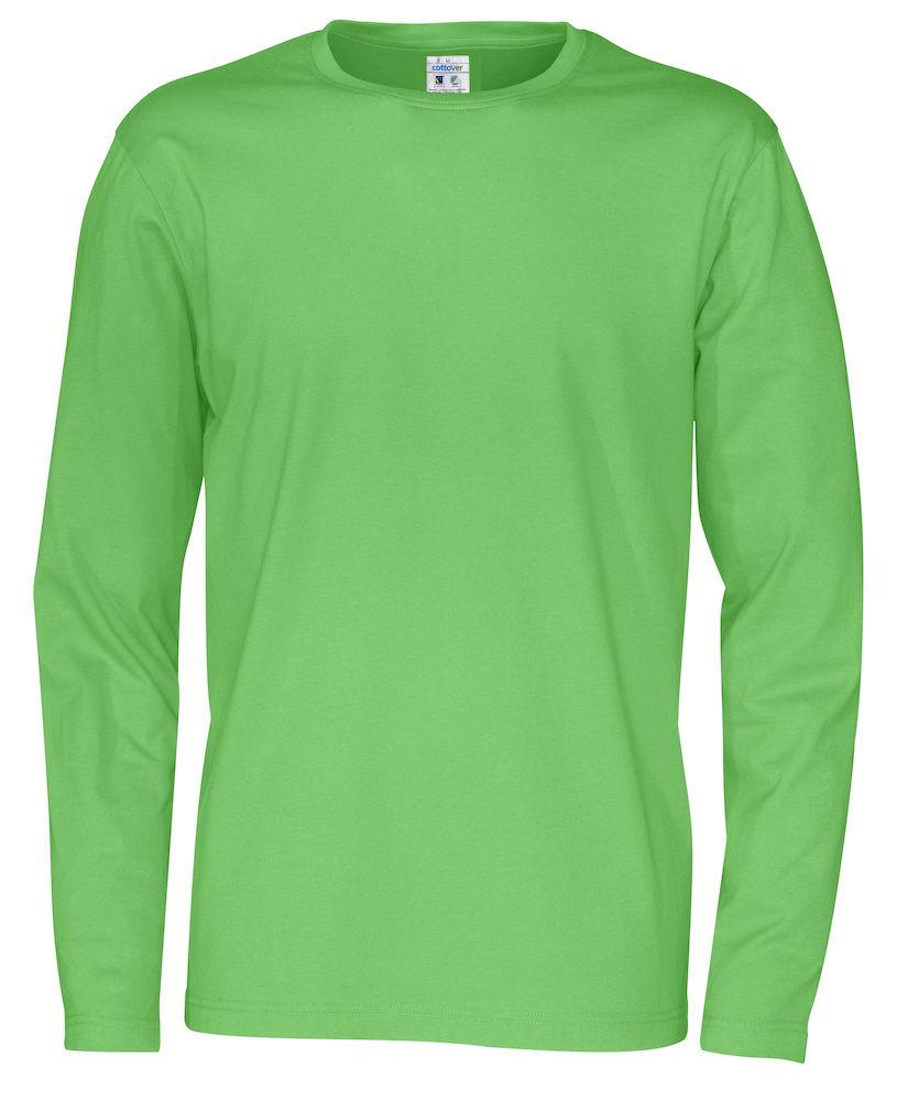 T-shirt Man L/S grön