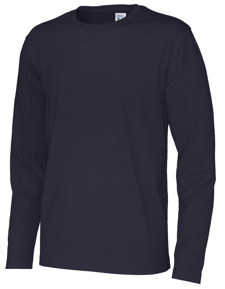T-shirt Man L/S marin