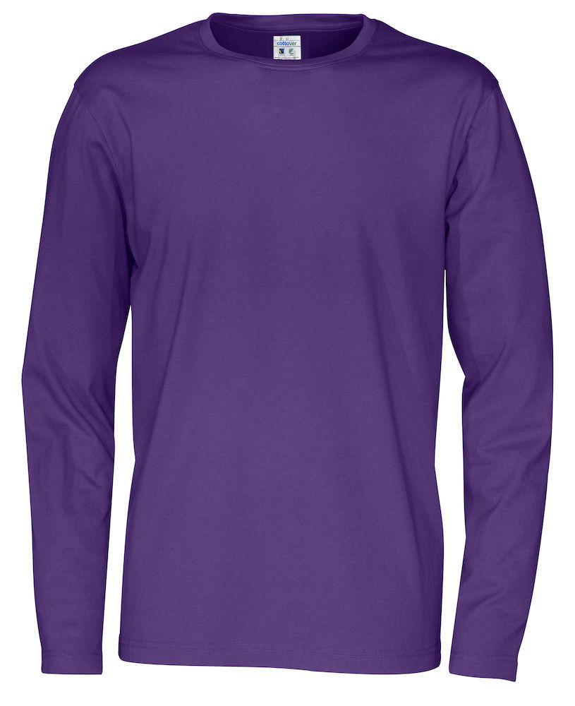 T-shirt Man L/S Purple