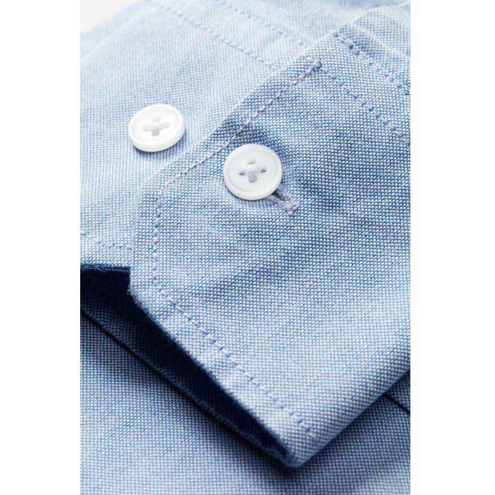 Oxford shirt l.sl Man Ljusblå