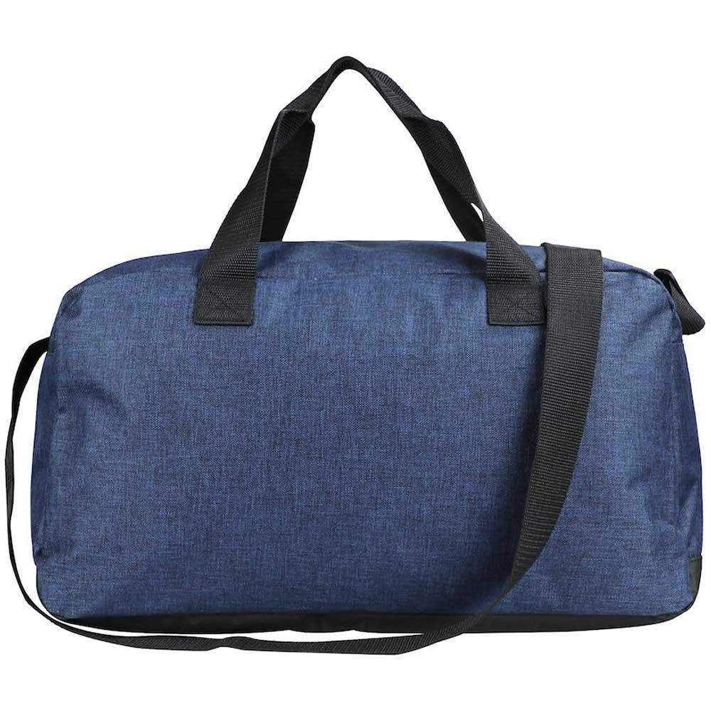 Melange Travelbag Blåmelerad
