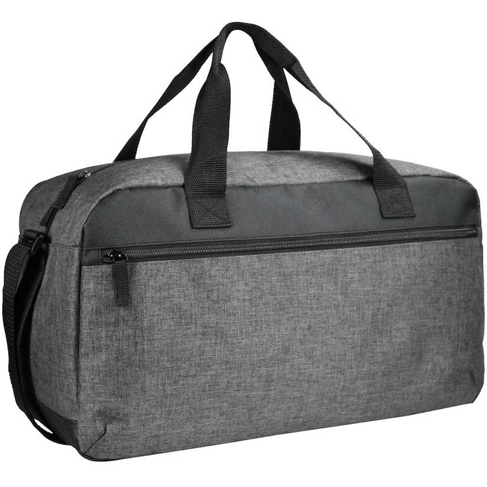 Melange Travelbag Gråmelerad