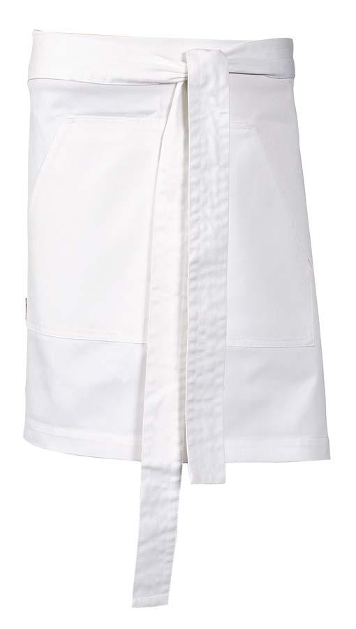 Nova Midjeförkläde vit