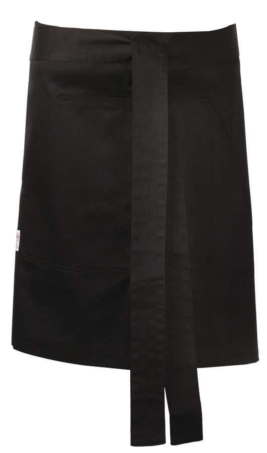 Nova Midjeförkläde svart