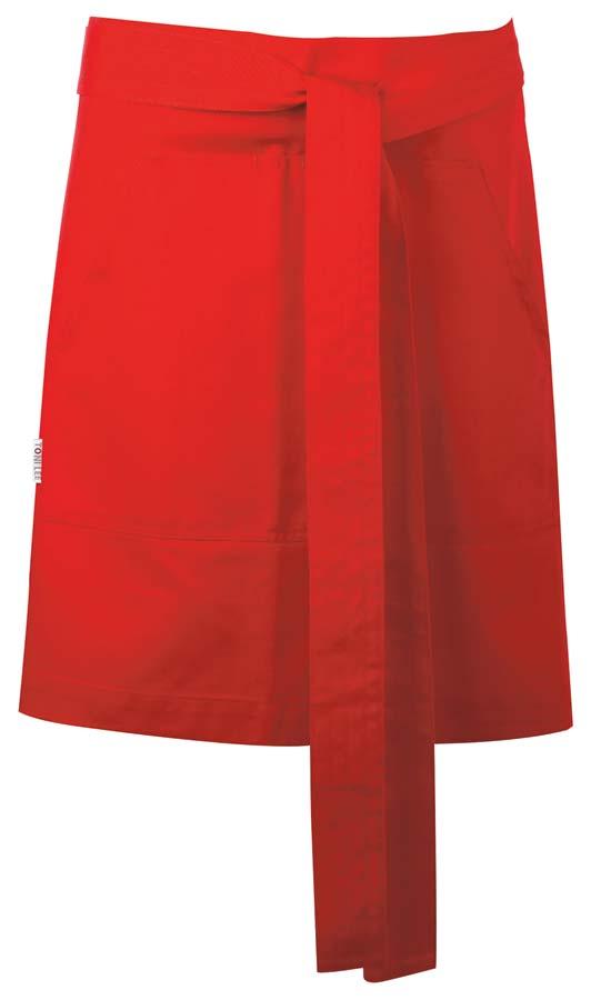 Nova Midjeförkläde röd