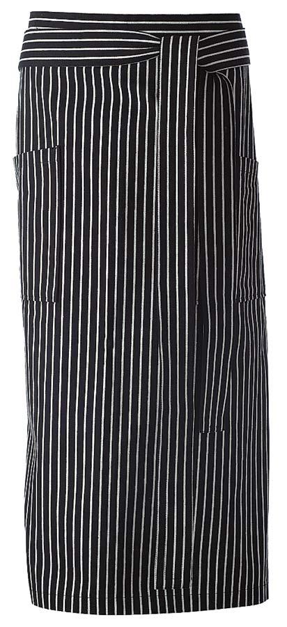 Beer Midjeförkläde stripe