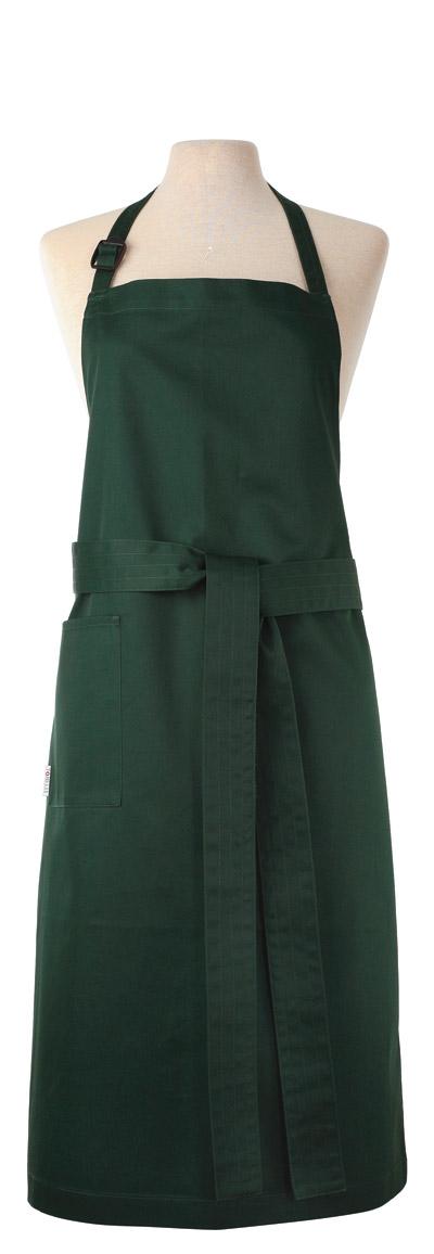 Kron Bröstförkläde buteljgrön