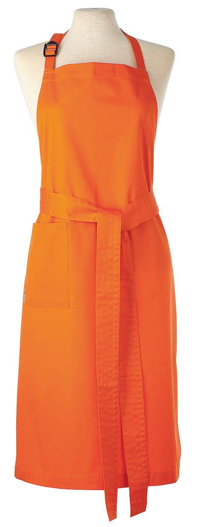 Kron Bröstförkläde orange