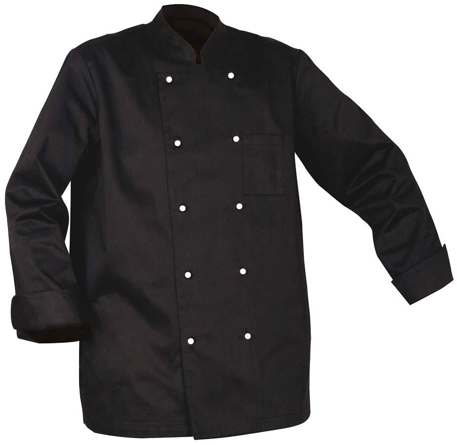 Chef Kockjacka Unisex svart