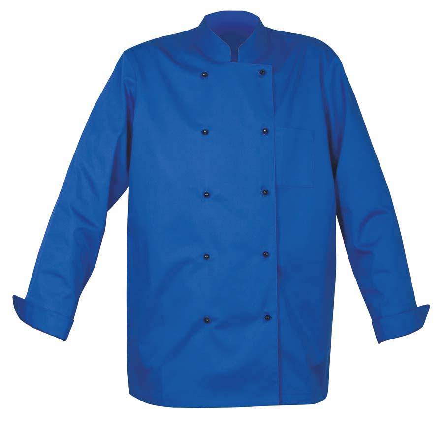 Chef Kockjacka Unisex royalblå