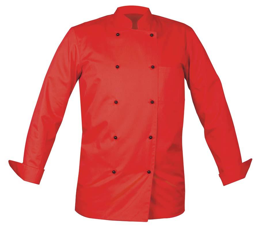 Chef Kockjacka Unisex röd