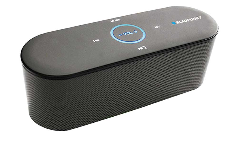 Bluetooth speaker with touch svart