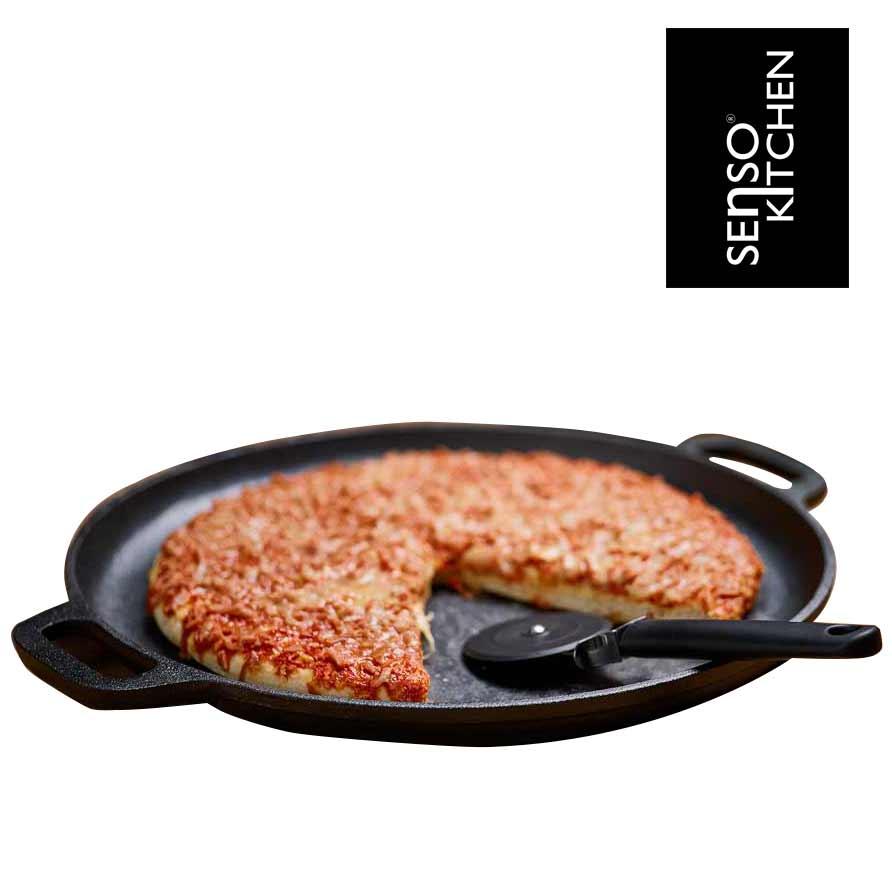 Pizzaset svart