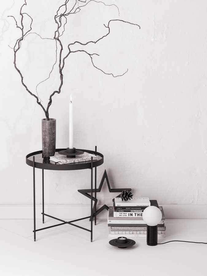 Design House Sthlm Set vit/svart