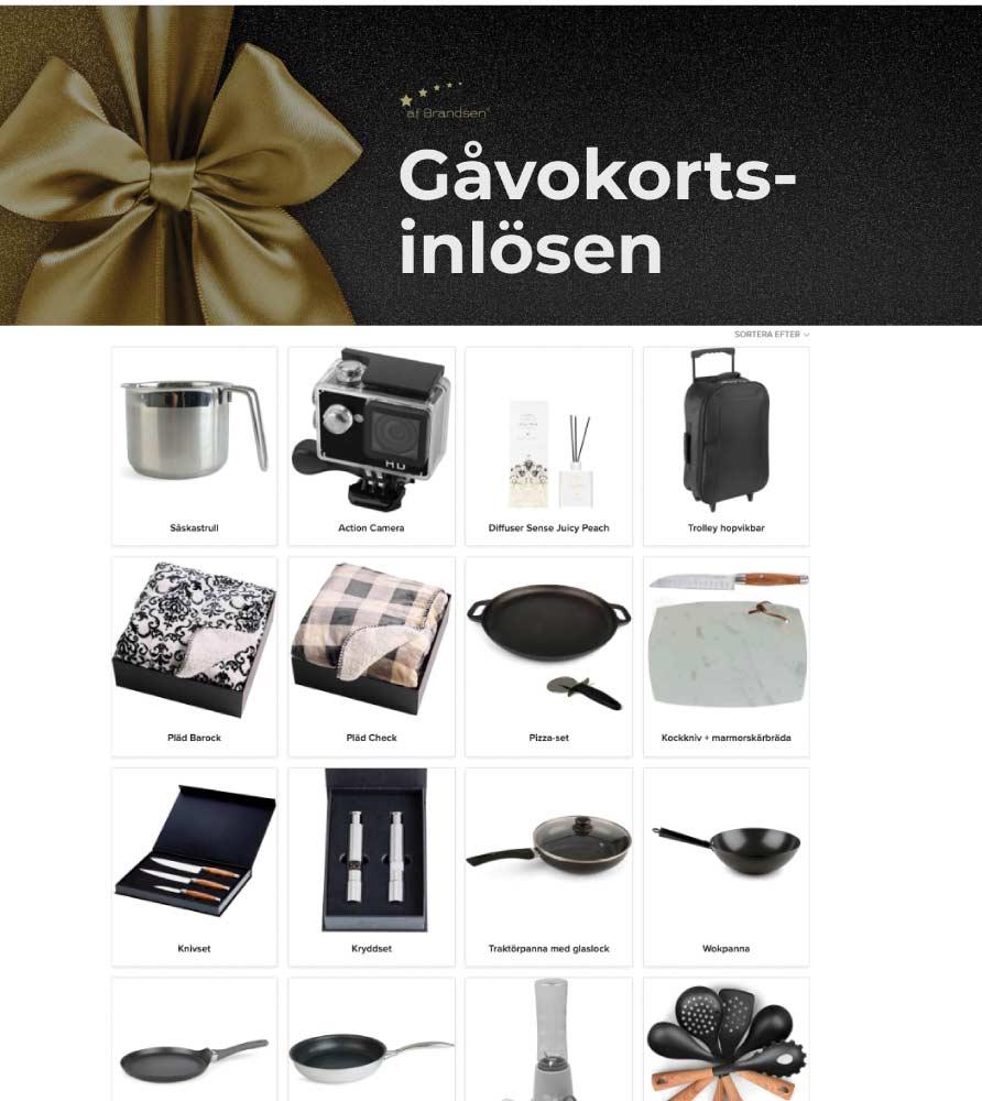 Gåvokort + Kockkniv Valnöt/stål