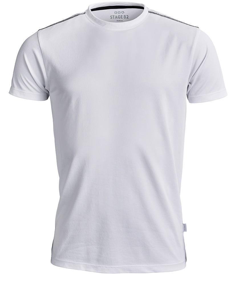 Function T-shirt Stage 82 Vit