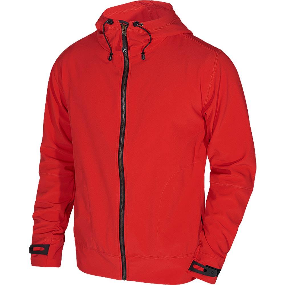 Texstar Hooded Softshell röd