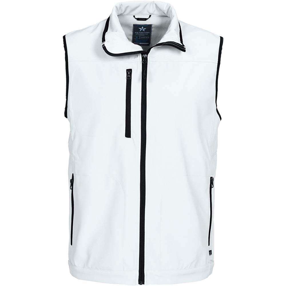 Texstar Softshell Vest White