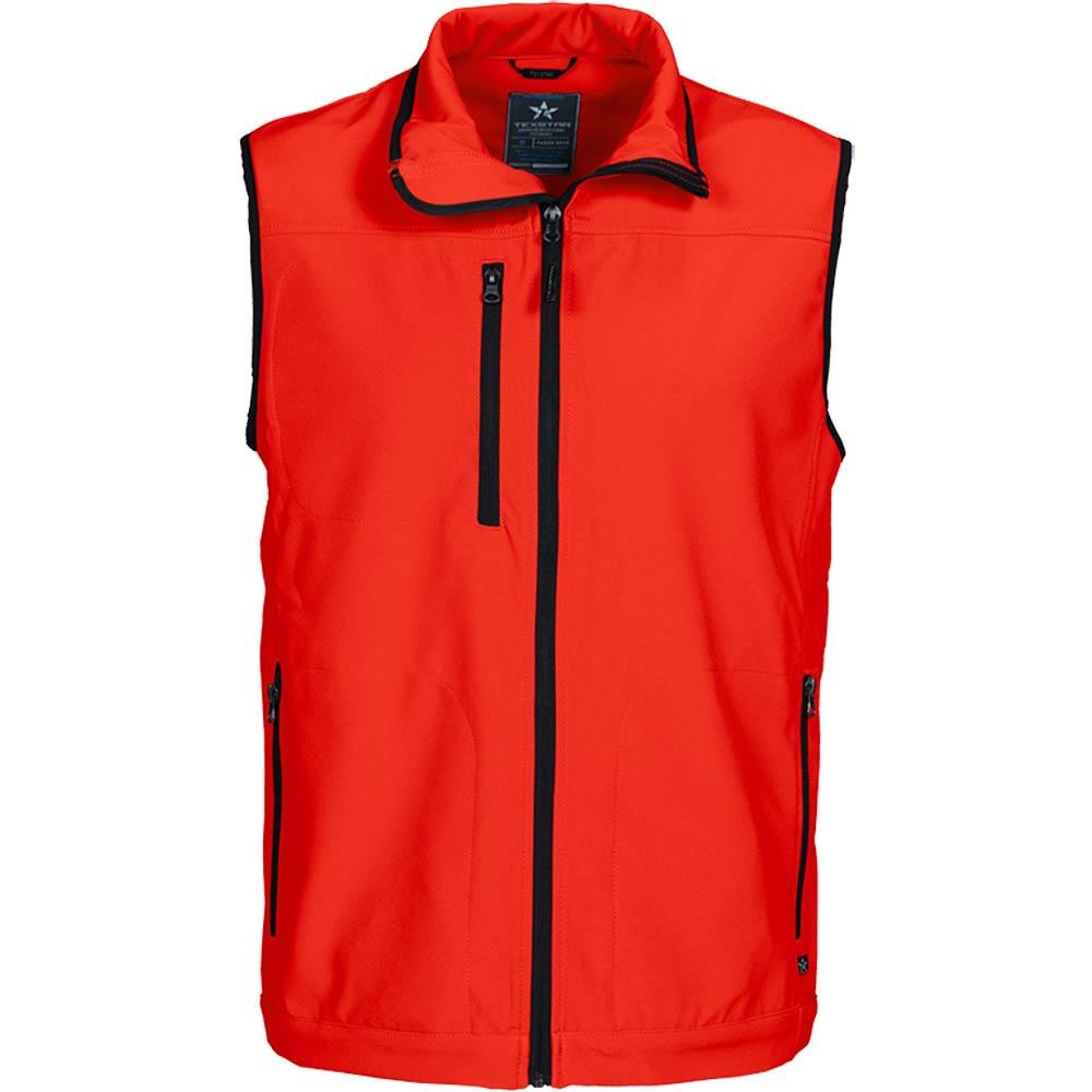Texstar Softshell Vest Red