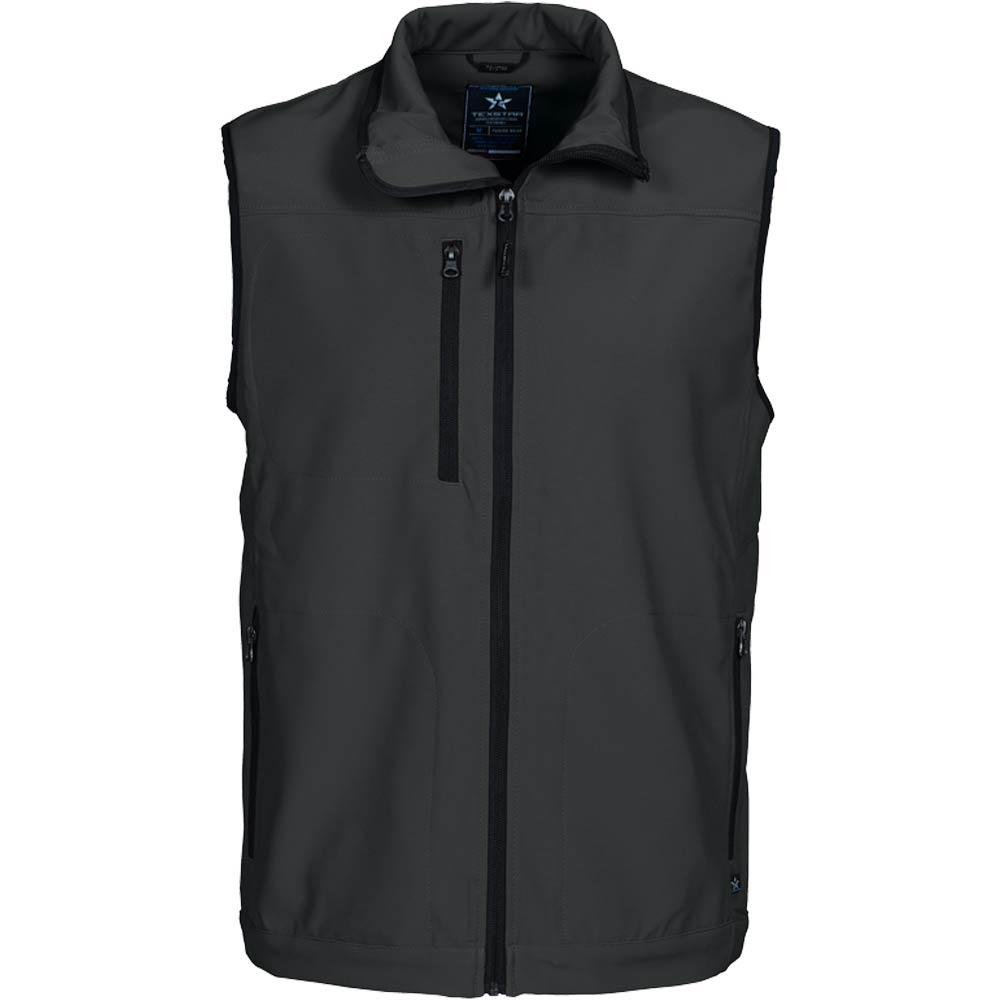 Texstar Softshell Vest Dark Grey
