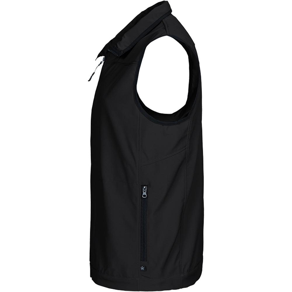 Texstar Softshell Vest Black