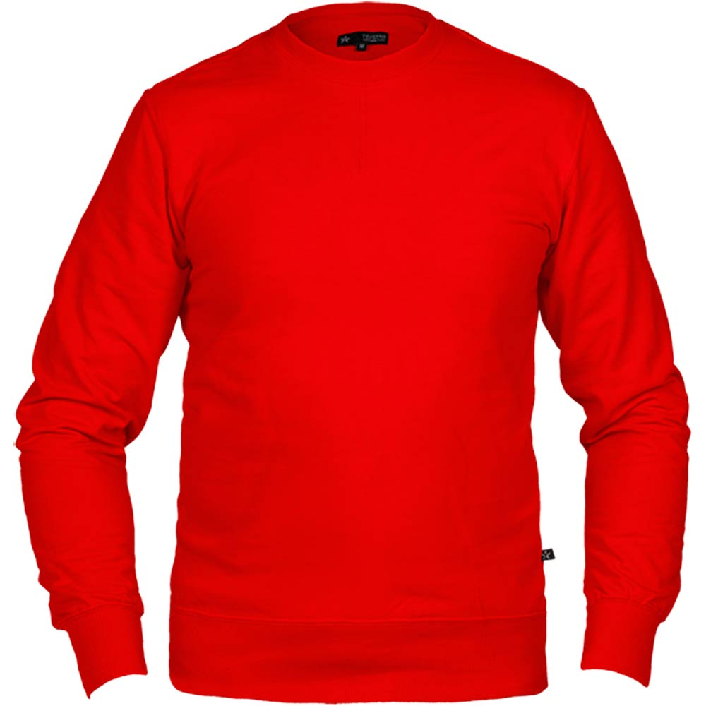 Texstar Crew Sweatshirt röd