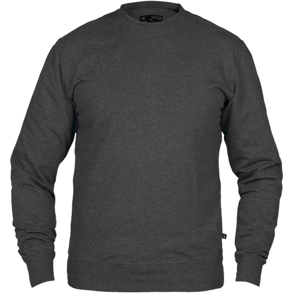 Texstar Crew Sweatshirt Anthracite Grey