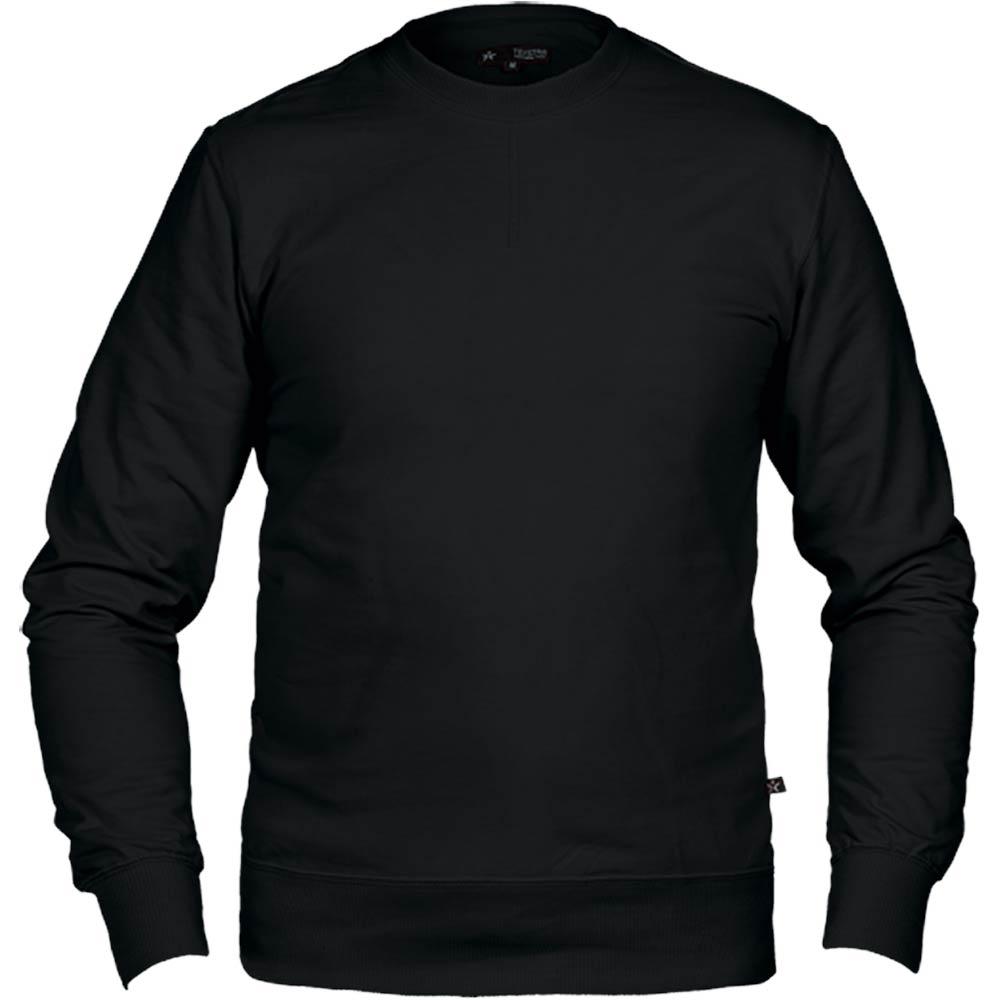 Texstar Crew Sweatshirt svart