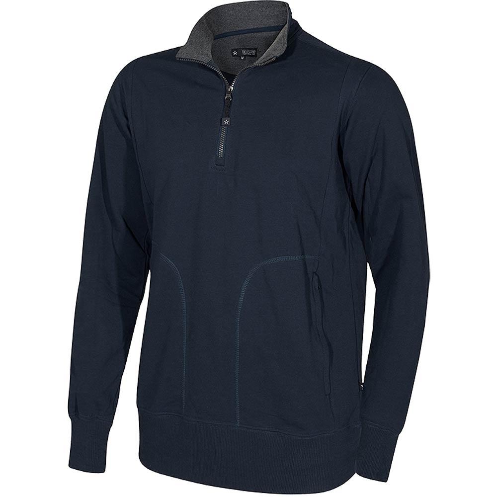 Crew T-Neck Sweatshirt marin