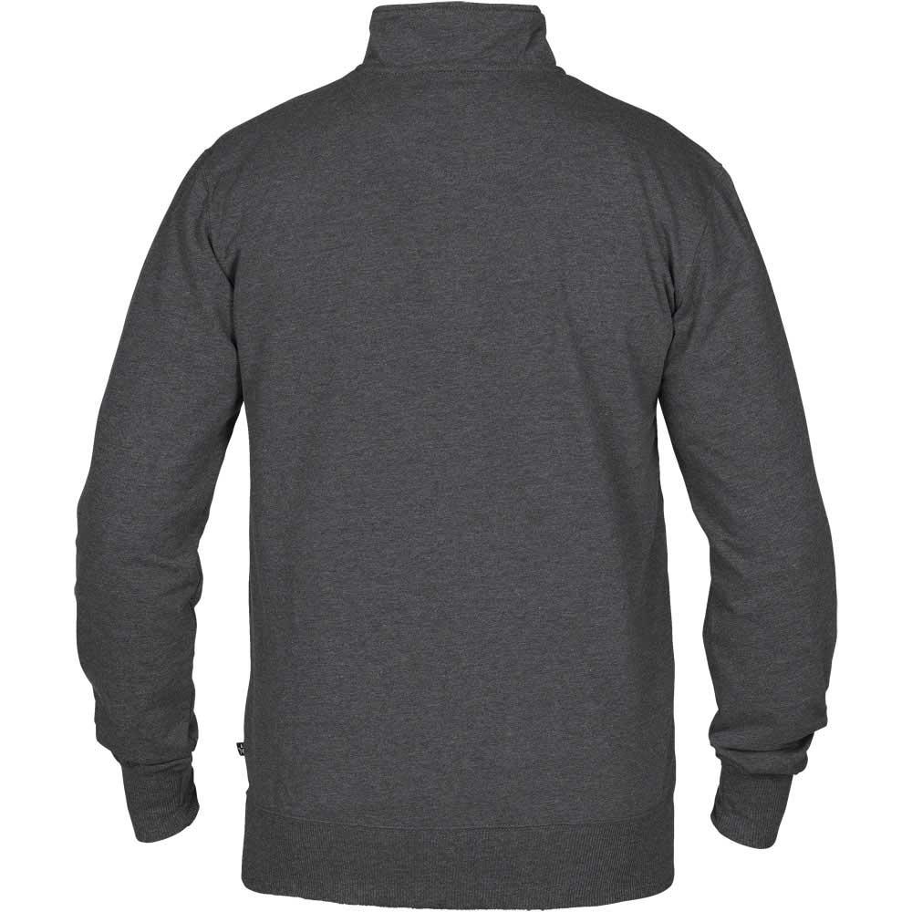 Crew T-Neck Sweatshirt Anthracite