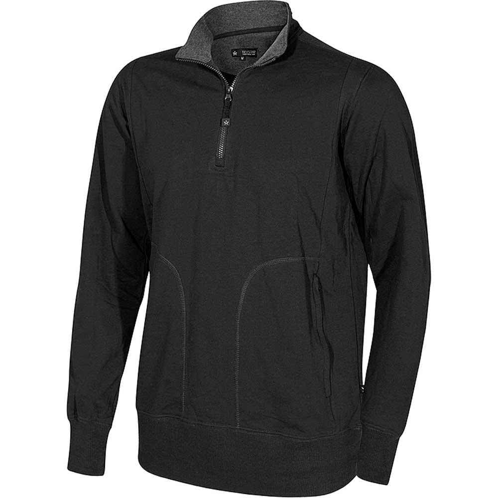 Crew T-Neck Sweatshirt svart