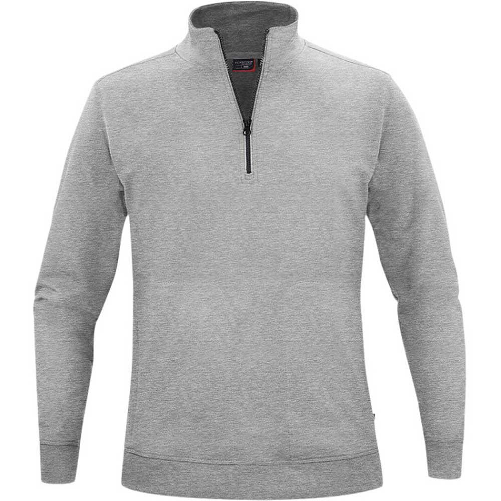 Crew Half Zip Sweater Lt. Grey