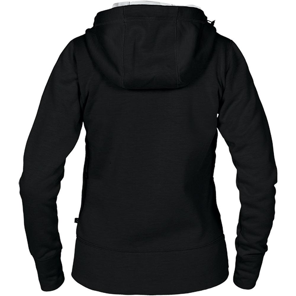 Womens Hooded Cardigan Black